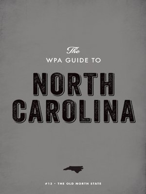 cover image of The WPA Guide to North Carolina